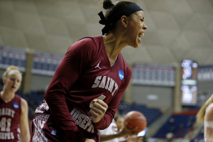 Natasha Cloud registered a triple-double. (Photo by David Butler II-USA TODAY Sports)