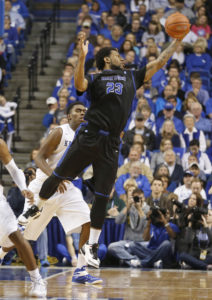 UB's Justin Moss continues to lead the MAC. (Photo: Mark Zerof-USA TODAY Sports)