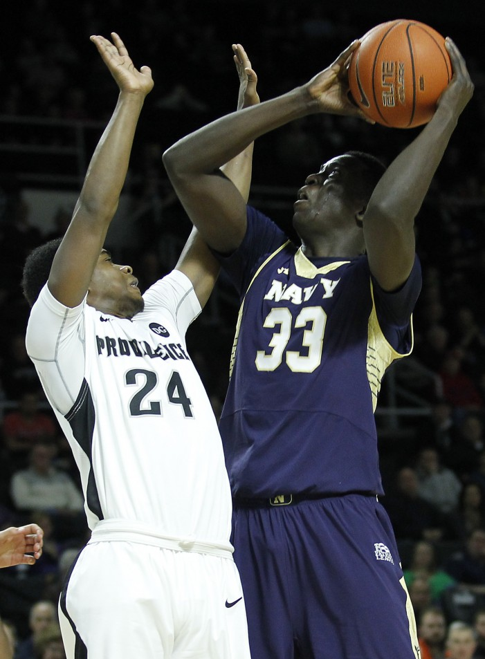 Venturini returns to lead Navy in Senior Day victory over Holy Cross