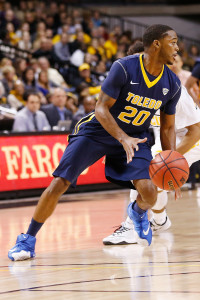 Juice Brown hit the game winner for Toledo. (Photo by Geoff Burke-USA TODAY Sports)