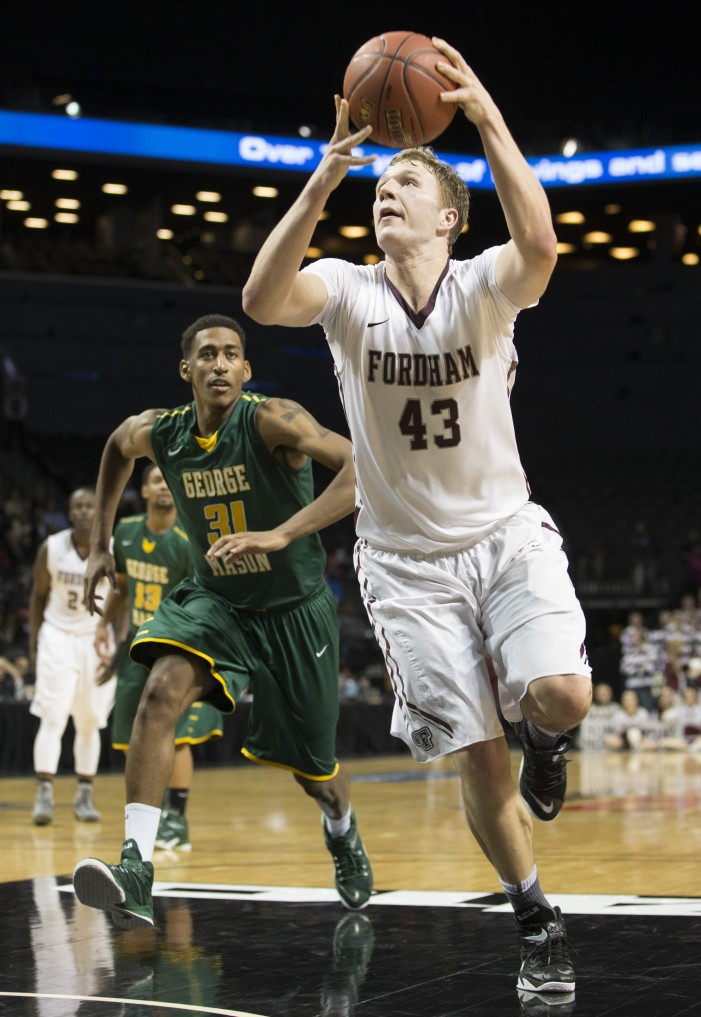 Sengfelder carries Fordham past George Mason