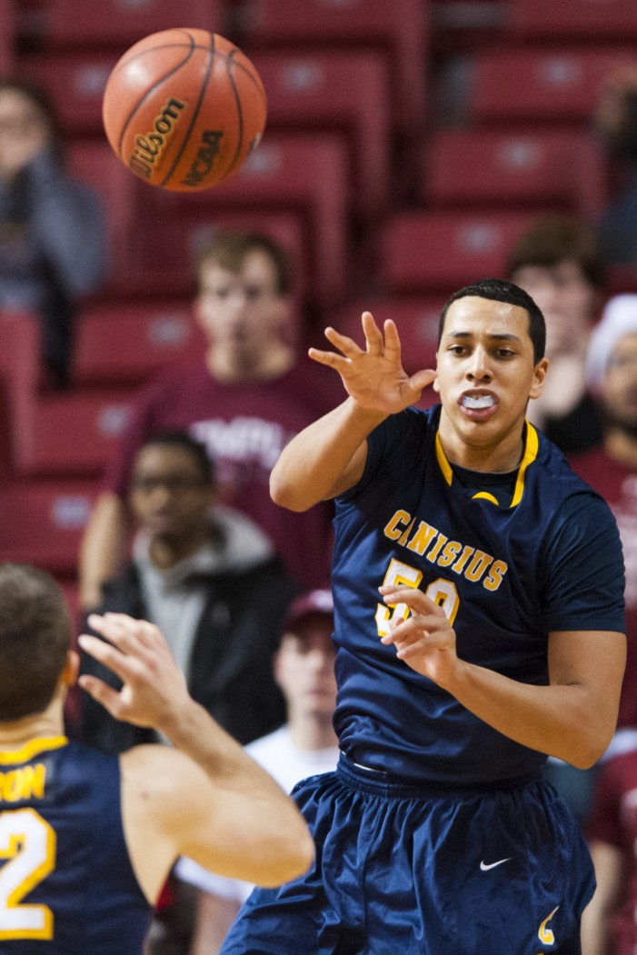 Heath is finishing strong for Canisius