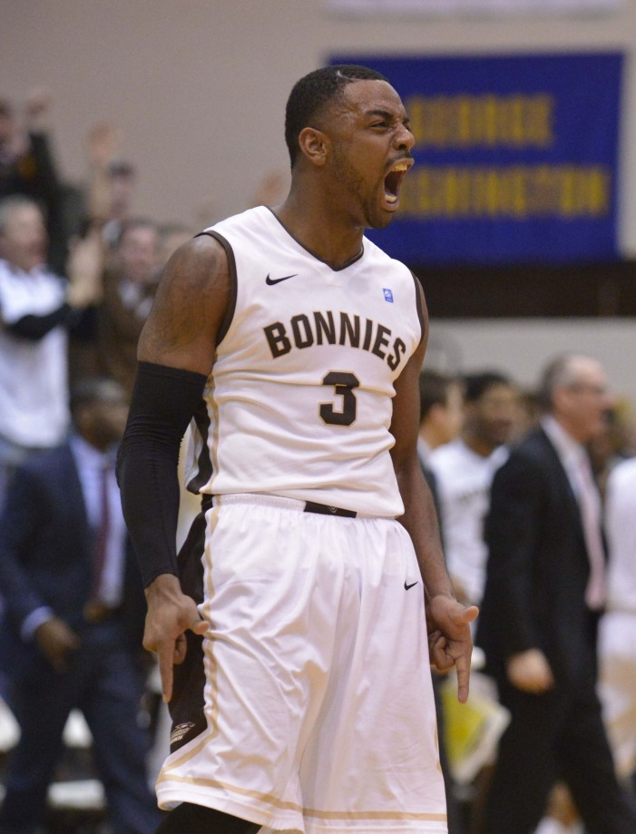 Shooting touch found: Posley, Bonnies complete season sweep of Duquesne, grab eighth A-10 win