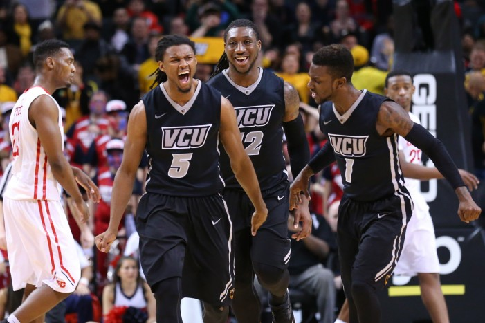 VCU slips out of character to claim A-10 title