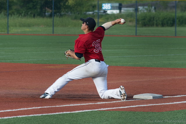 Rochester scores eight in the eighth, beats Olean