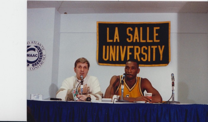 La Salle's Lionel Simmons To Be Inducted Into National Collegiate Basketball Hall Of Fame