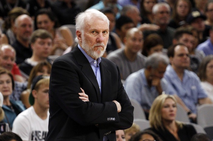 Popovich named 2017-20 USA Basketball Men's National Team Head Coach