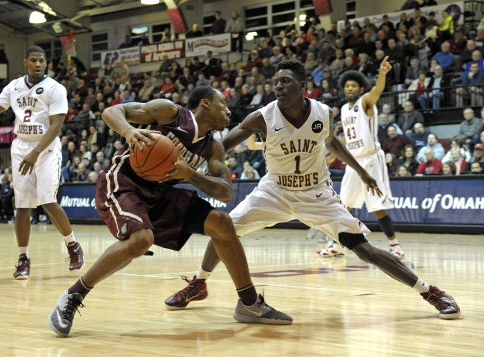 Newkirk's shot at :01 lifts Saint Joseph's over Old Dominion, 66-64