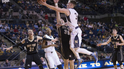 Navy rolls to third straight win at UMBC