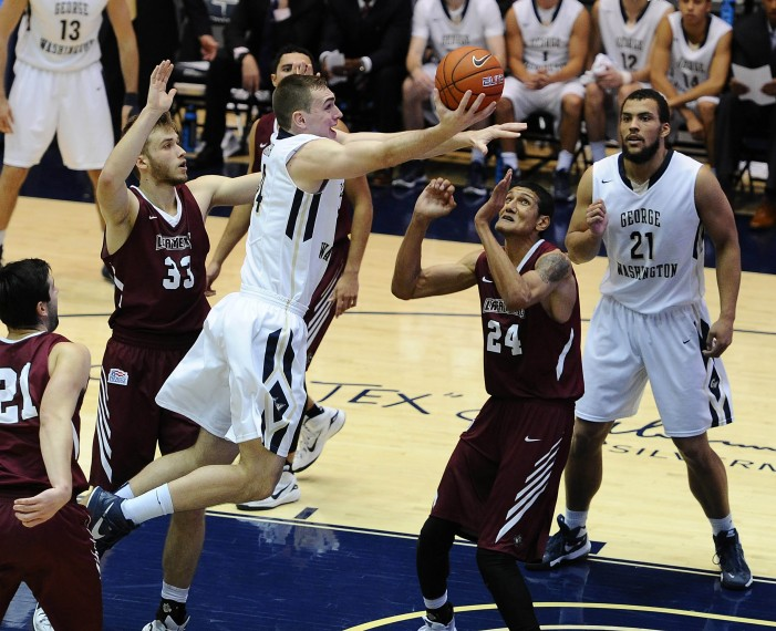 Lafayette's strong second half falls short at GW