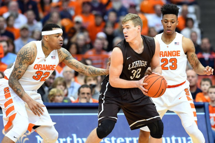Lehigh's second-half surge falls short at Syracuse, 57-47