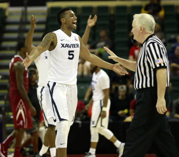 Xavier finds a different guy in win over Alabama