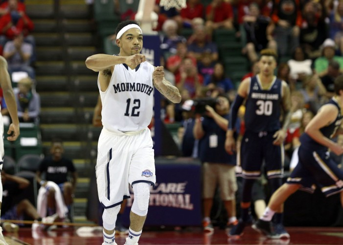 Monmouth's Robinson saw the green light
