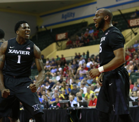 Bluiett pulls double duty in Xavier's win over USC