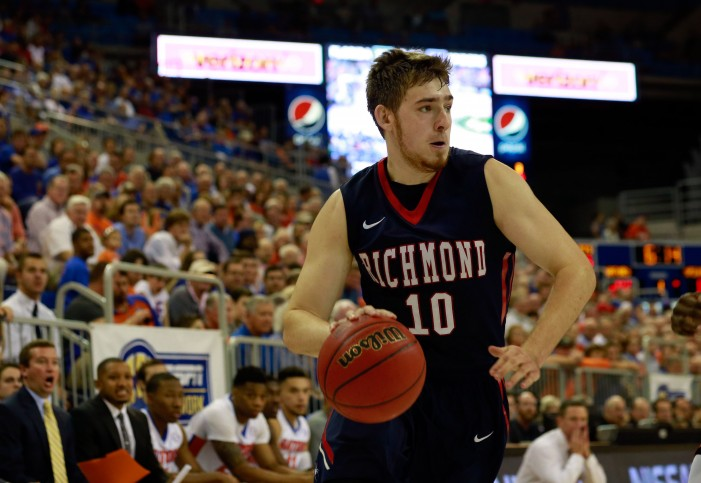 Richmond downs Longwood, 77-59, with five in double figures