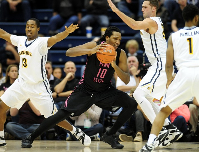 Penn State powers past Canisius