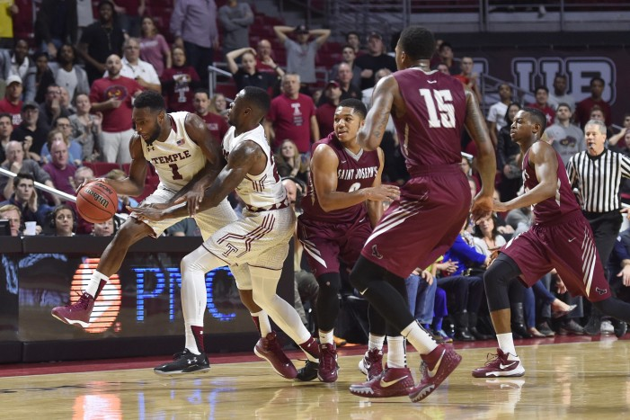 Saint Joseph's edges Temple in overtime, 66-65