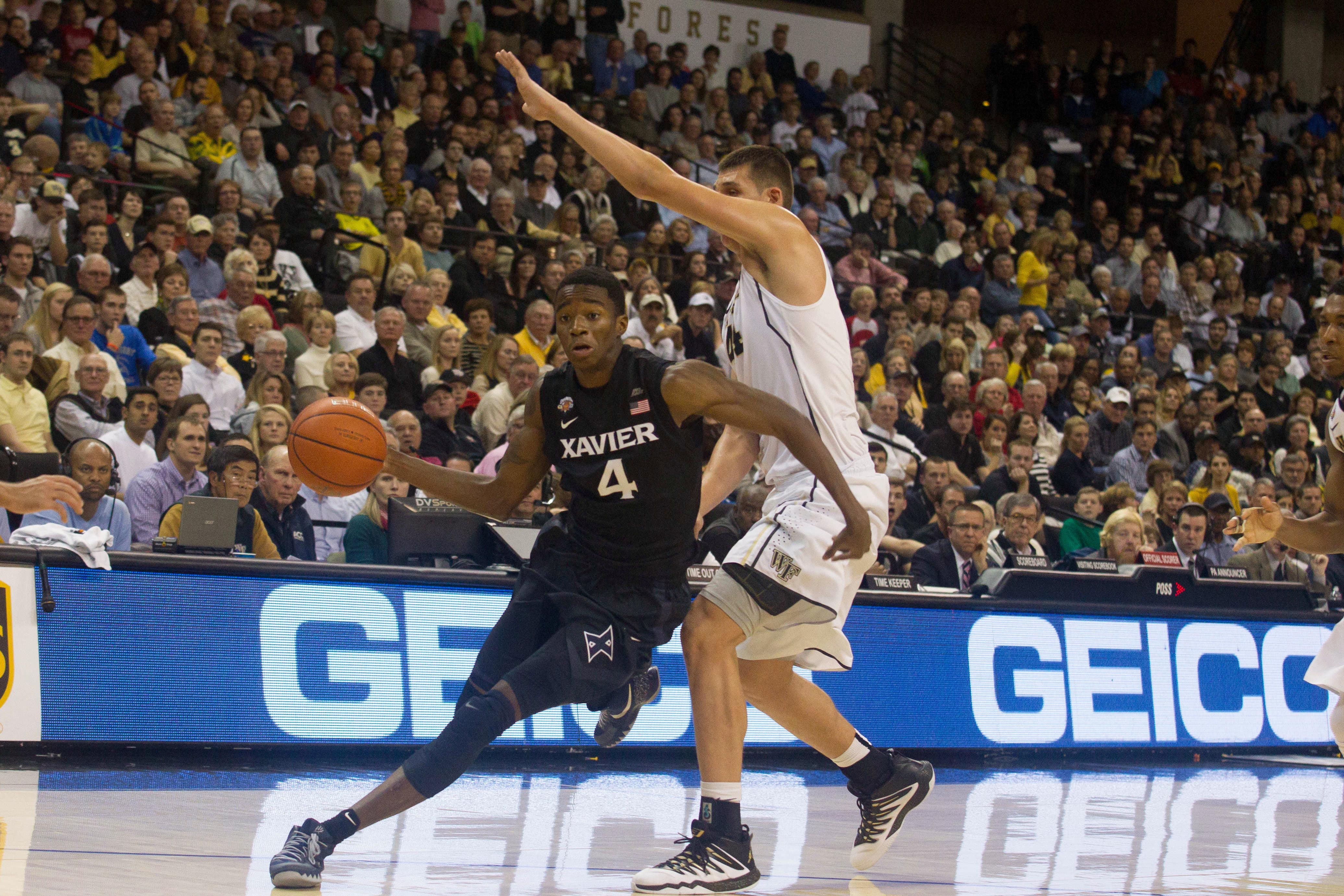 edmond sumner xavier musketeers ncaa march madness