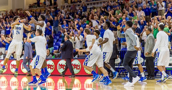 Tucker's game-winning and-1 finish gives FGCU 77-76 victory over UMass