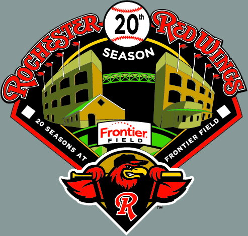 Red Wings Reveal 20th Season at Frontier Field Logo
