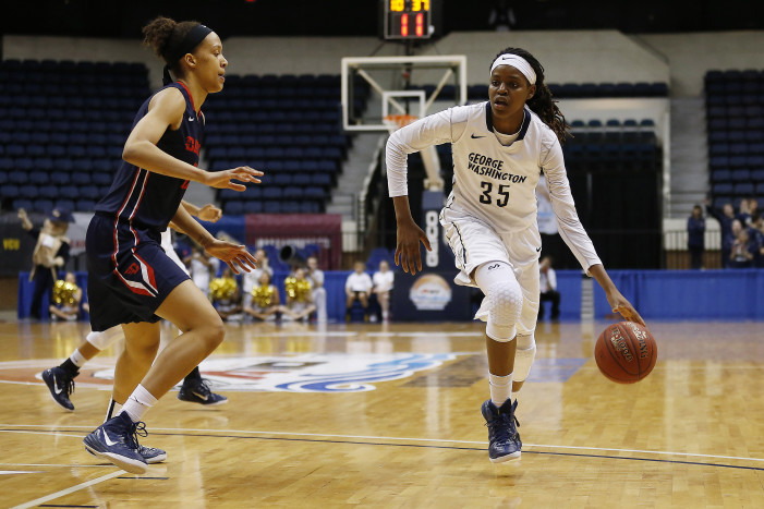 GW's Jones garners Ann Myers Drysdale National Player of the Week honors