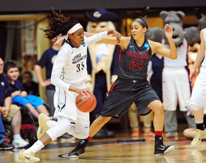 George Washington's Jonquel Jones Claims A-10 Women's Player of the Week Honors