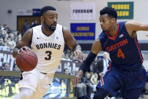 Marcus Posley (3) finished with a game-high 31. Charles Cooke (4) led Dayton with 21. (Photo: Rich Barnes-USA TODAY Sports)