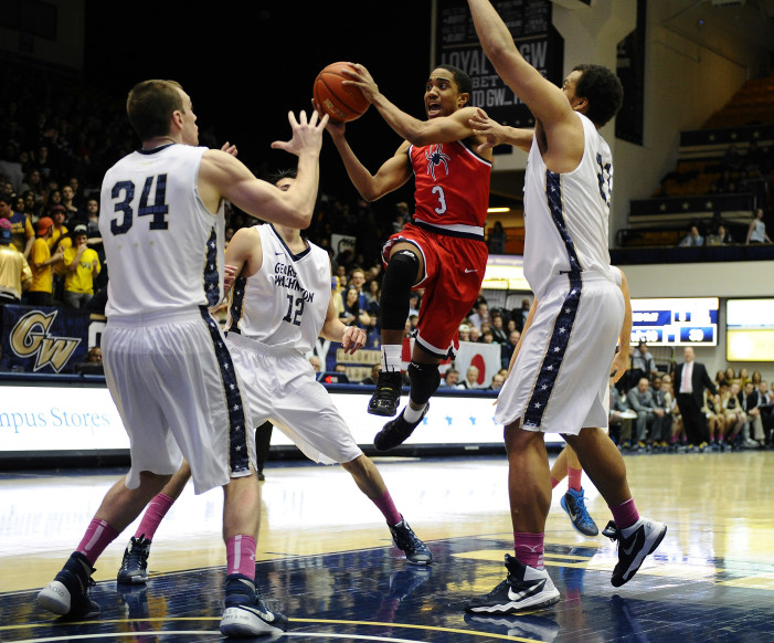 Richmond wins thriller at GW in double overtime