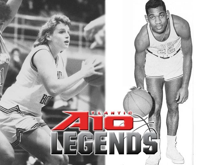 Bona's Sam Stith, Sue Shay Danielewicz Named Atlantic 10 Basketball Legends