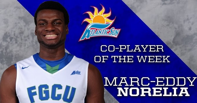 Norelia named A-Sun Co-Player of the Week