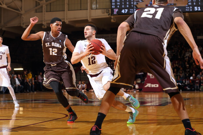 Fordham's Joseph Chartouny named A-10 Rookie of the Week for fifth time
