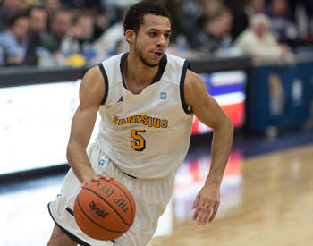 Canisius grinds out win over Rider