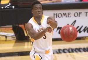 Darwin Trotman scored 13 and grabbed eight rebounds. (Courtesy: Monroe CC Athletics)