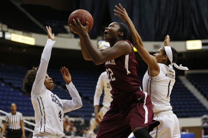 Fordham's Danielle Burns named A-10 Women's Player of the Week