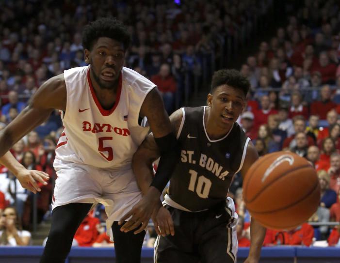 Adams delivers as Bona stuns Dayton