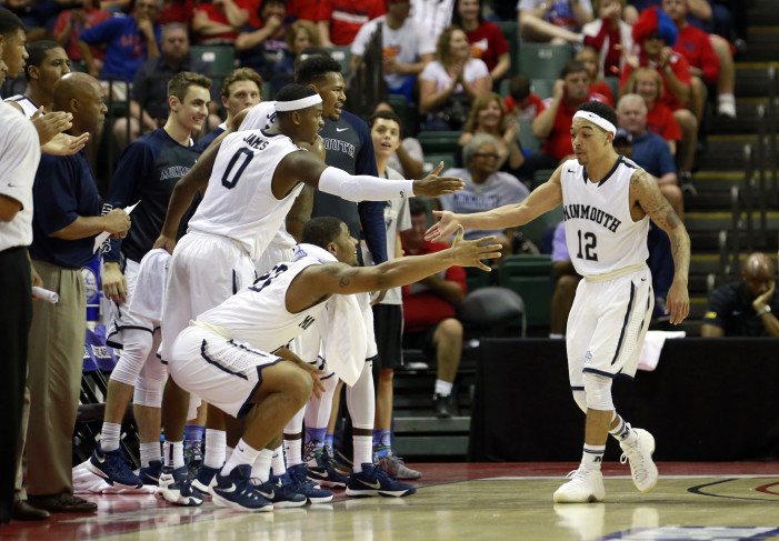 Top-seeded Monmouth moves onto MAAC semifinal