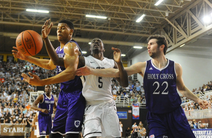 Holy Cross completes stunning run to Patriot League title