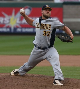 Remillard set a program record for saves. (Photo courtesy of Canisius Athletics)