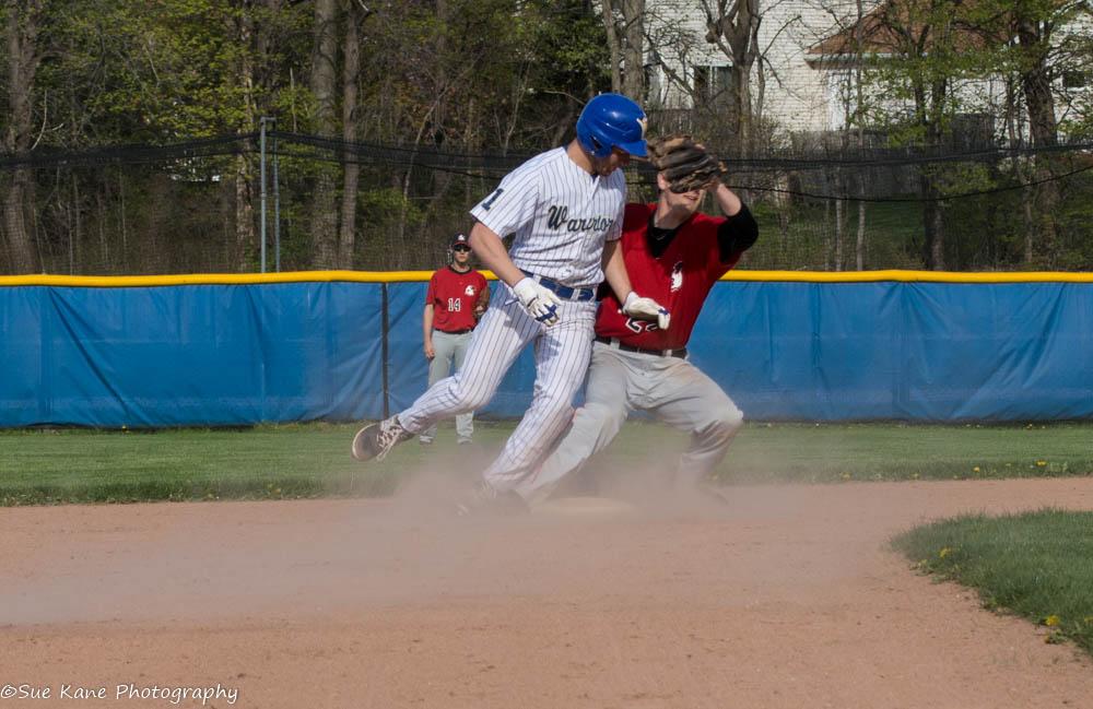 Webster Schroeder's Shane Marshall (1) has 16 stolen bases. (Photo: SUE KANE)