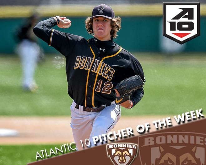 Grey earns Atlantic 10 Pitcher of the Week honors