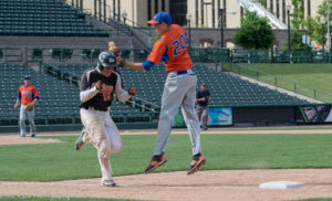 Fredonia (VI) edged Livonia, 1-0 with a run in the seventh inning. (Photo: SUE KANE)