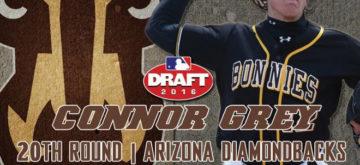 Bona's Connor Grey Selected in 20th Round of MLB Draft by Arizona Diamondbacks