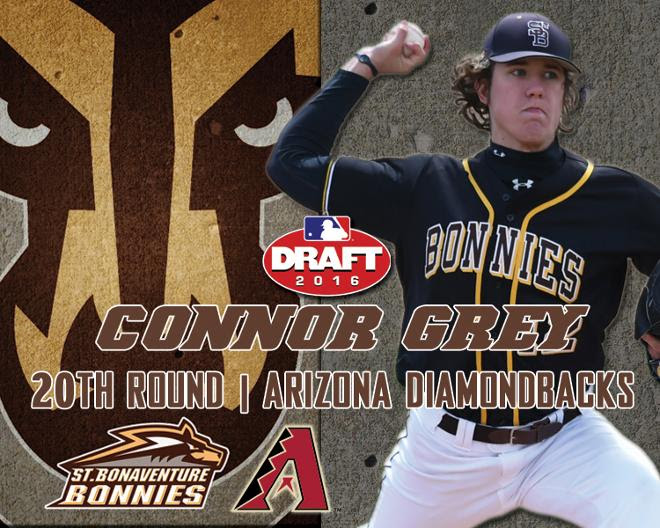 Bona's Connor Grey Selected in 20th Round of MLB Draft by Arizona Diamondbacks