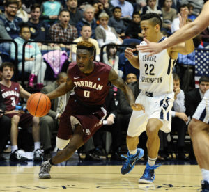 Bishop Kearney's Antwoine Anderson (0) averages 11.2 points per game for the season (up from 8.3 a year ago) and has also added to his assists (from 2.6 last year to 3.0 currently) while seeing a drop in his turnovers from 2.4 to 2.2 per game. (Photo: Brad Mills-USA TODAY Sports)