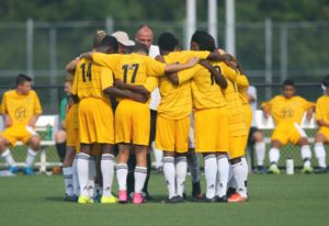 The Monroe Community College Tribunes fell to 5-4-1. (Photo courtesy of Monroe Community College athletics)