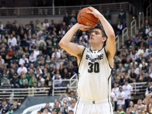 Michigan State transfer Kenny Kaminsky will add production to the Ohio lineup. (Photo: Mike Carter-USA TODAY Sports)