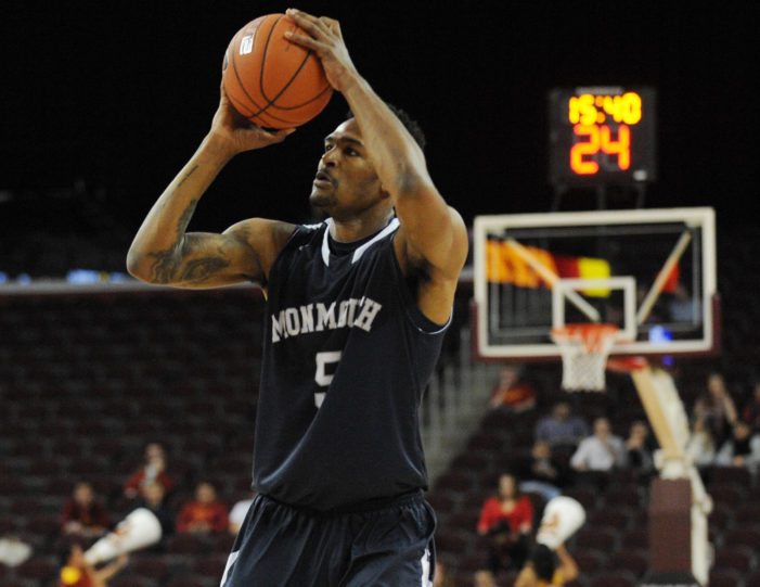 Former Monmouth Hawk Deon Jones signs professional contract in Japan