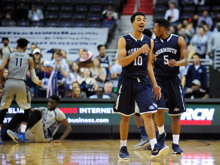 Monmouth never trails in win over Army West Point
