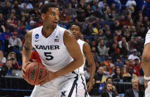 Trevon Bluiett (5), a 2015-16 USA Today Third Team All-American and 2015-16 BIG EAST First Team selection, led Xavier in scoring at 15.1 ppg. last season and is the team's leading returning rebounder at 6.1 ppg. (Photo: Jasen Vinlove-USA TODAY Sports)