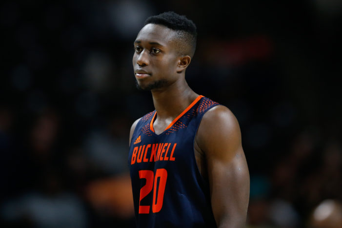Bucknell goes two games up in Patriot League after 70-59 win over Boston U.